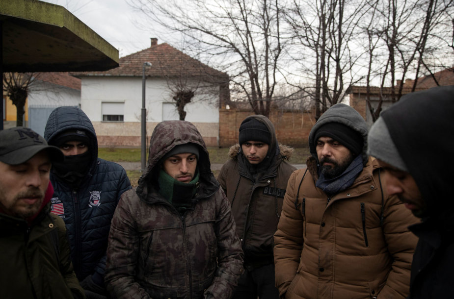 Į Vengriją pamėginę įsiveržti nelegalūs migrantai