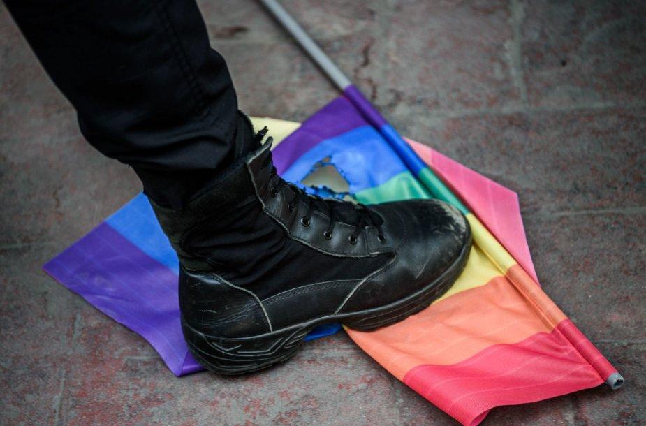 Trypiama LGBT vėliava