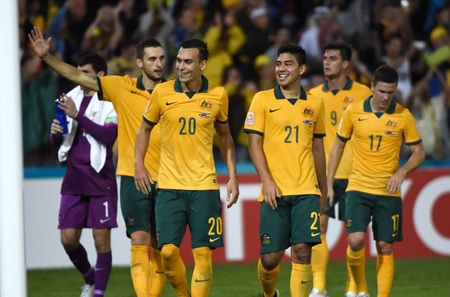 Australijos futbolo rinktinė