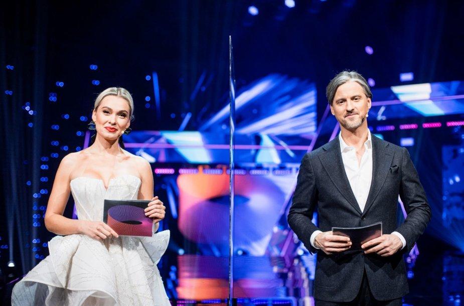 Ieva Stasiulevičiūtė ir Vytautas Rumšas jaunesnysis