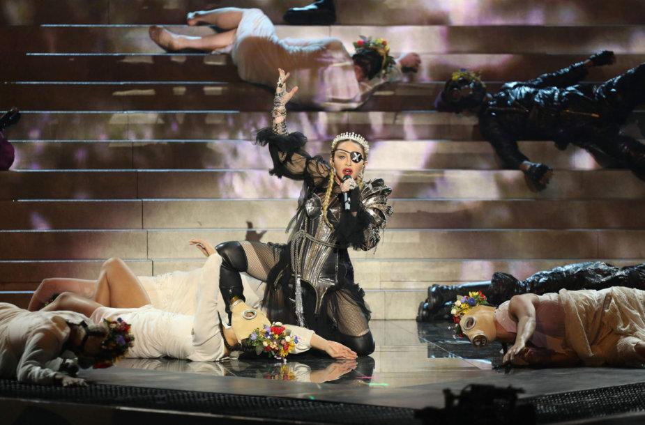 """Madonnos pasirodymas """"Eurovizijoje"""""""