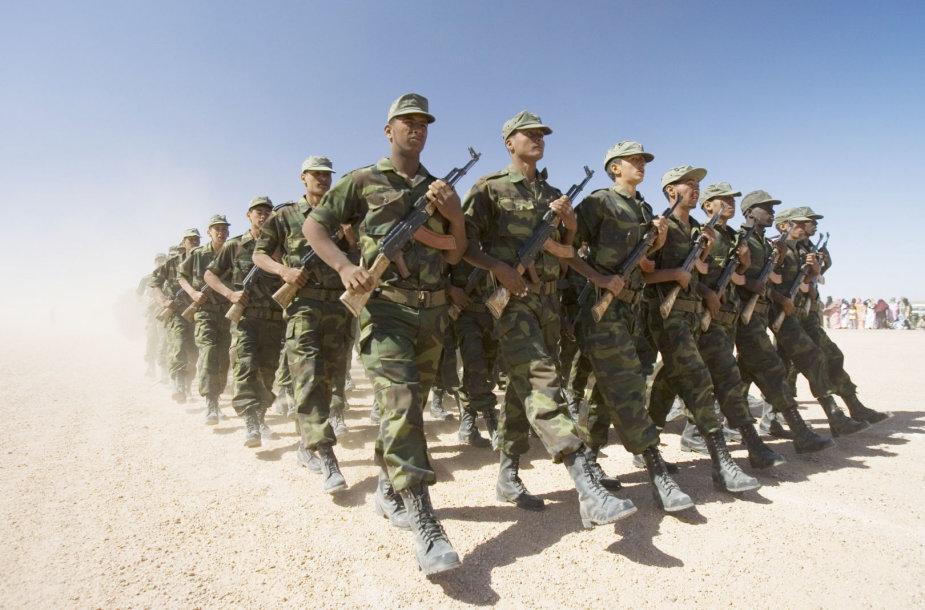 """Judėjimo """"Polisario Front"""" kariai"""