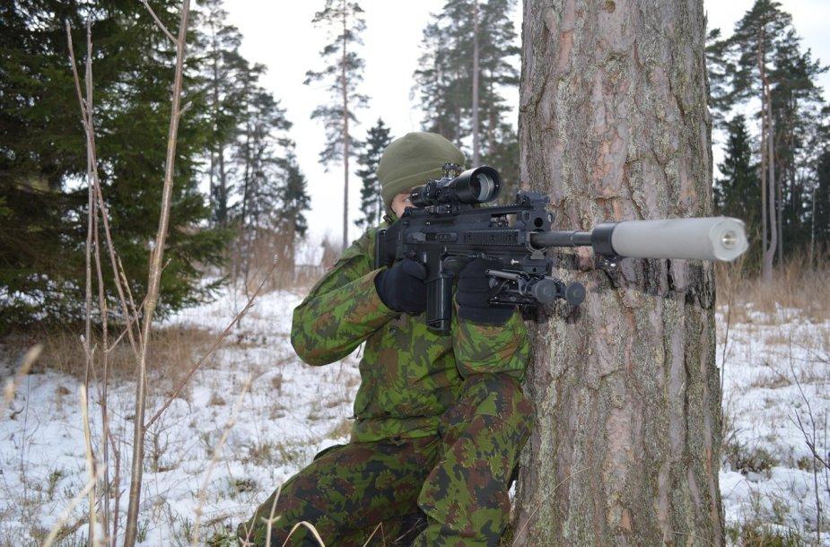 Taikliojo šaulio ginklas FN SCAR-H PR