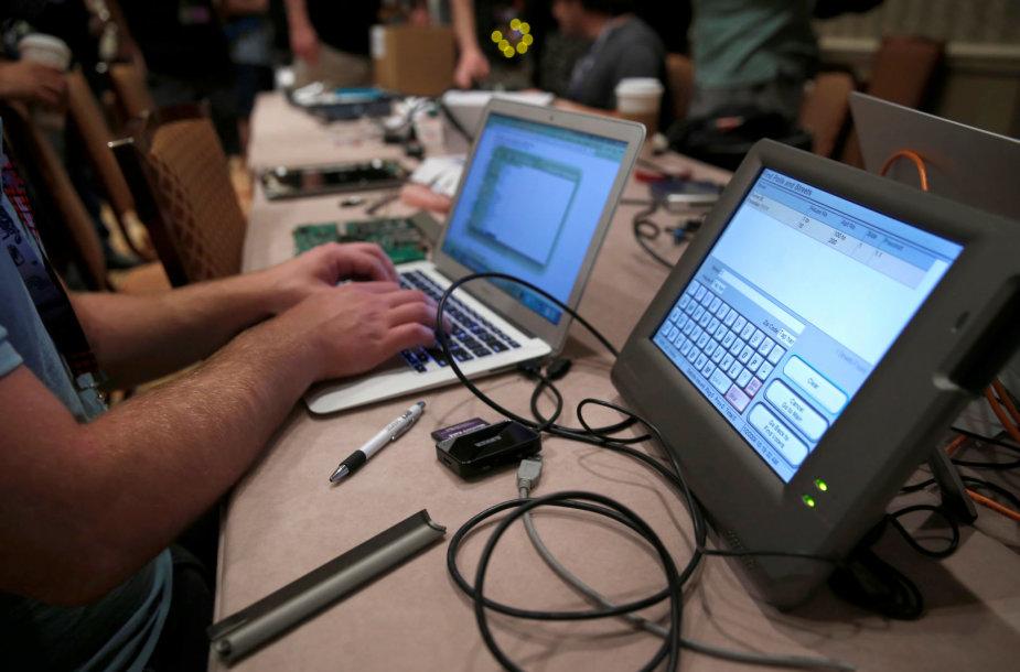 Rusija rengia kibernetinių atakų kampaniją