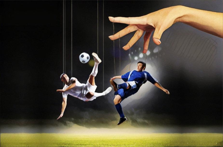 Lietuvos futbolo rungtynės sulaukė įtarimų.