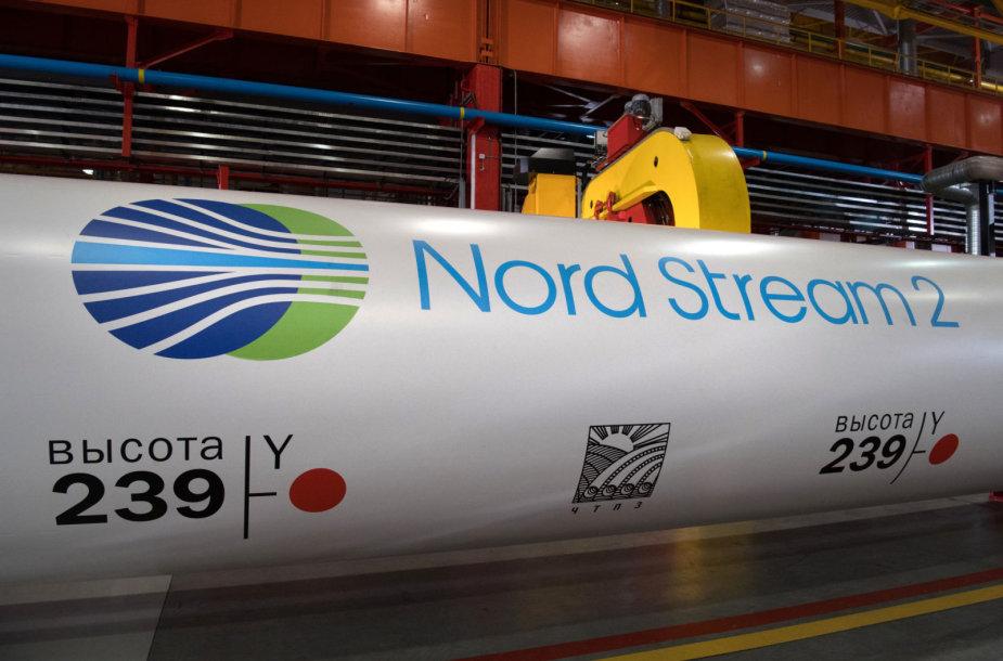 """Dujotiekis """"Nord Stream 2"""" Lenkijoje ir visoje Vidurio bei Rytų Europoje vertinamas neigiamai"""