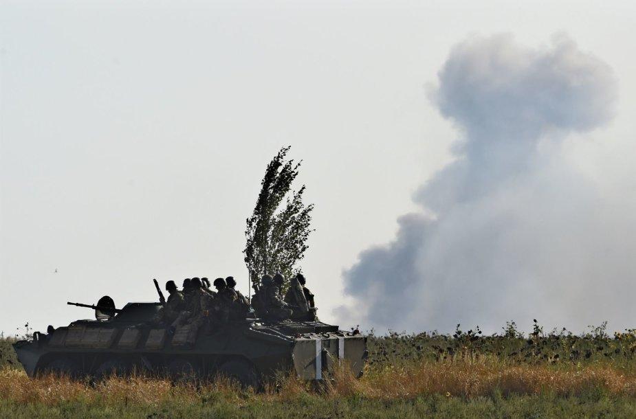 Ukrainos kariai Mariupolyje
