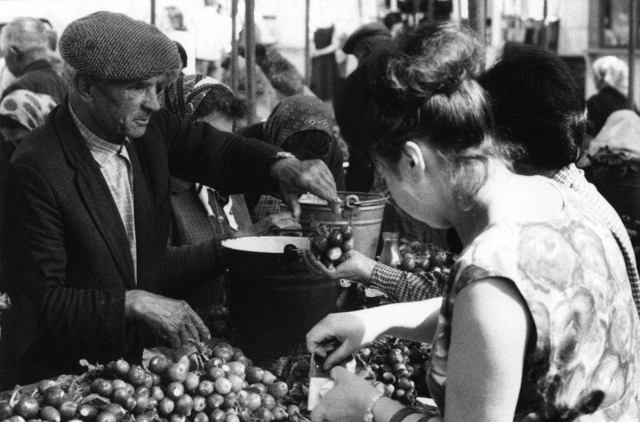 Kolūkiečių turgus Vilniuje (1966 m.)