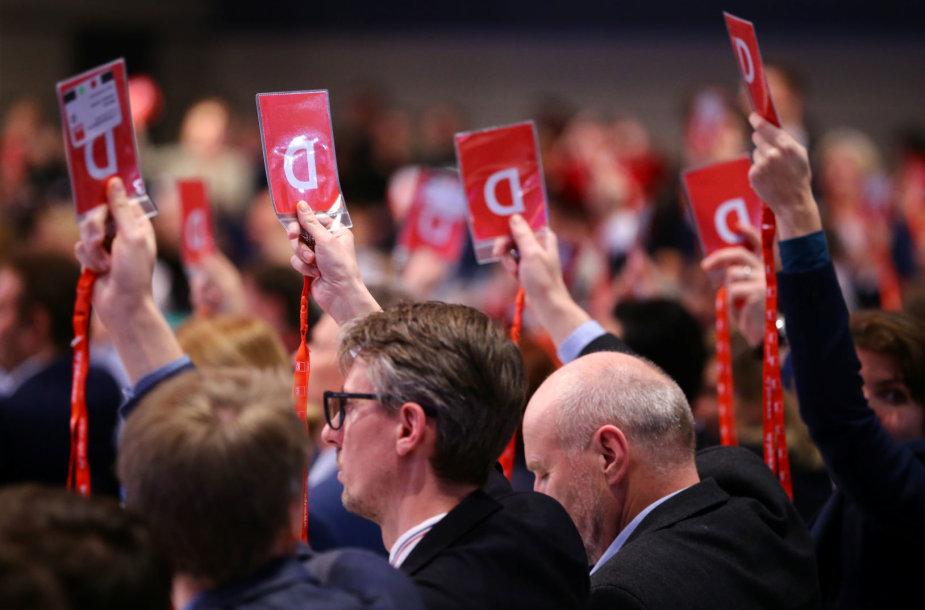 Vokietijos socialdemokratų partijos neeilinis suvažiavimas