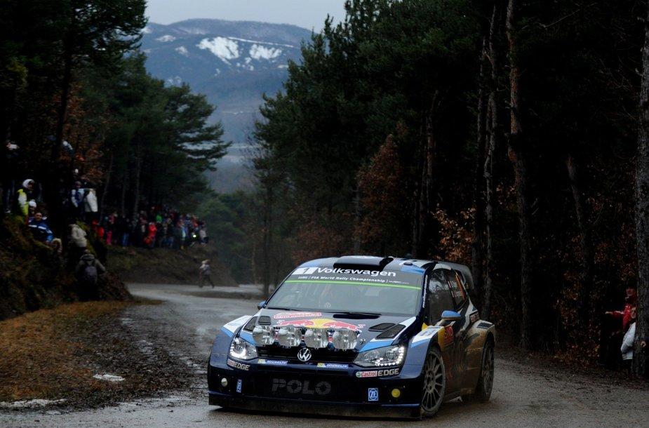 WRC varžybos Monte Karle