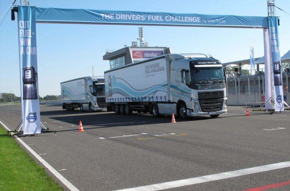 """The Drivers' Fuel Challenge"" varžybos"