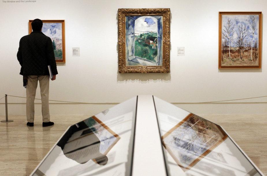 Dailininko Marco Chagallo paveikslai