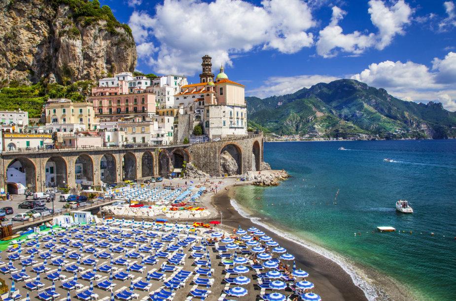 Amalfio krantas, Italija