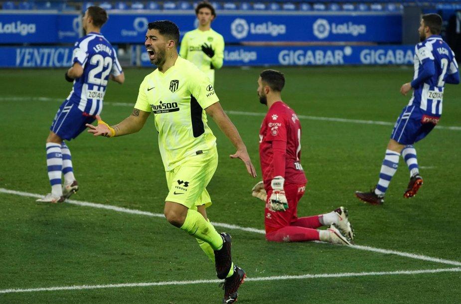 Luisas Suarezas išplėšė pergalę savo komandai