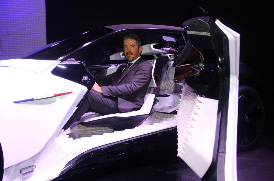 """Peugeot"" vyriausiasis dizaineris Gillesas Vidalis"