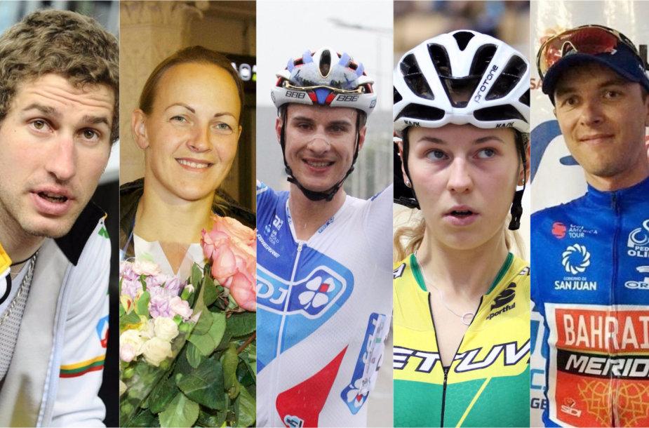 Geriausi šalies dviratininkai