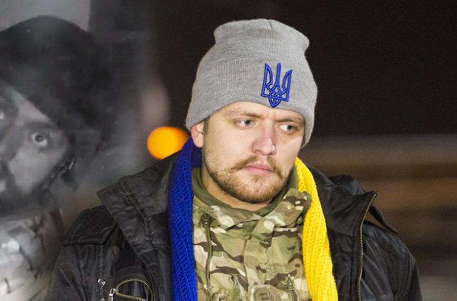Lietuvoje gydomas V.Trofimenka buvo sužeistas prie Donecko oro uosto.
