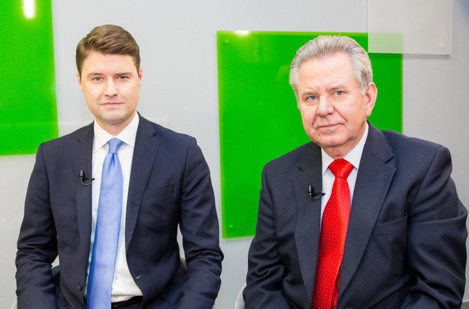 Mykolas Majauskas ir Gediminas Žižys