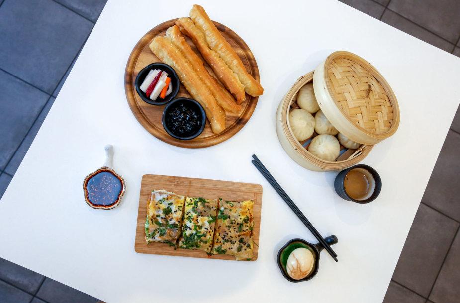 Kinų vėlyvųjų pusryčių patieklai