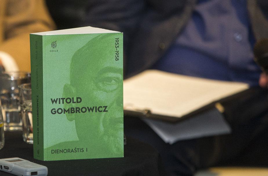 """Witoldo Gombrowicziaus knygos """"Dienoraštis"""" pristatymas"""