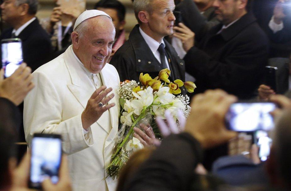 Popiežiaus Pranciškaus vizitas Bolivijoje