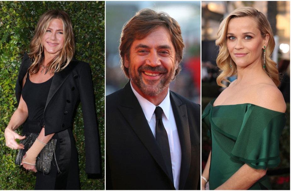 Jennifer Aniston, Javieras Bardemas ir Reese Witherspoon