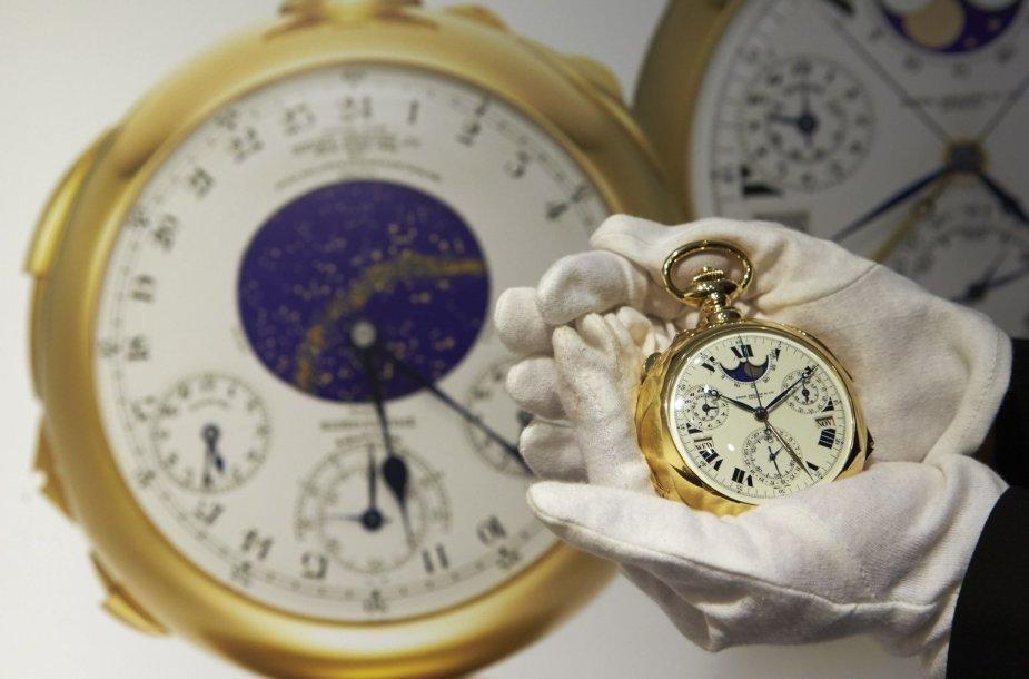 """Auksinis """"Patek Philippe"""" laikrodis"""