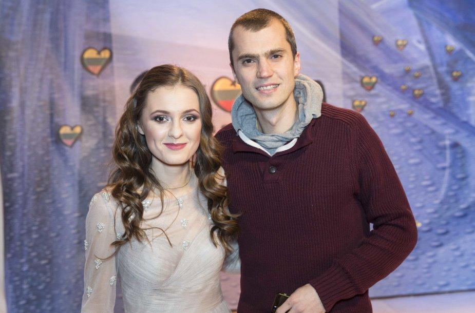 Ieva Zasimauskaitė-Kiltinavičienė ir Marius Kiltinavičius