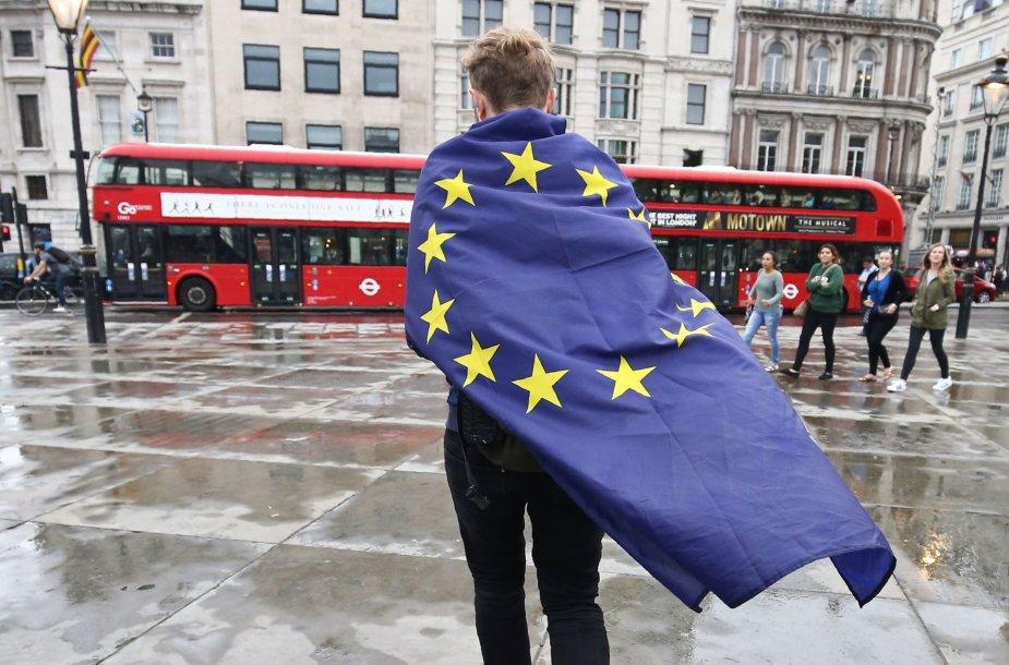 Demonstracijos Londone