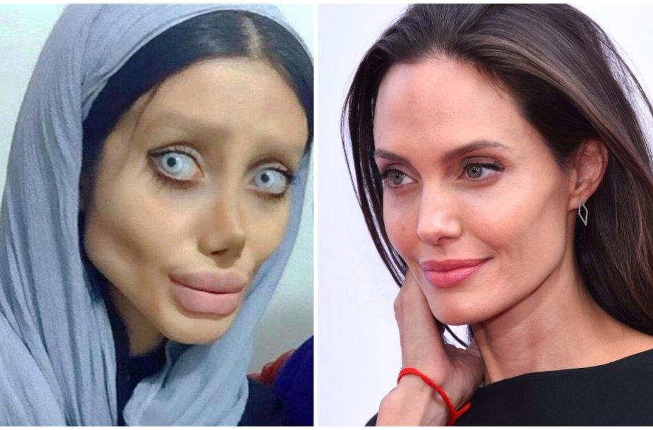Sahar Tabar ir Angelina Jolie