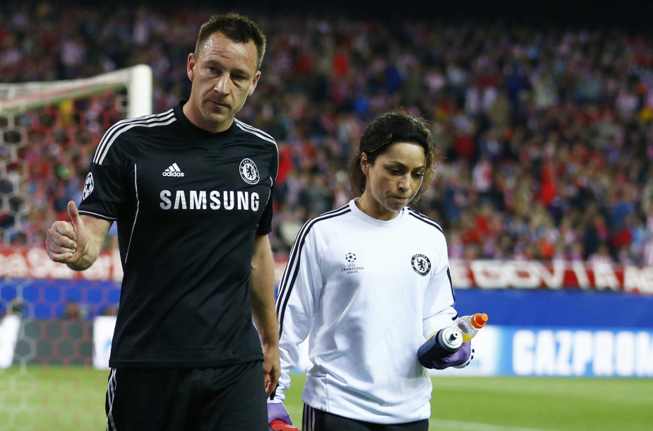 Johnas Terry ir Eva Carneiro