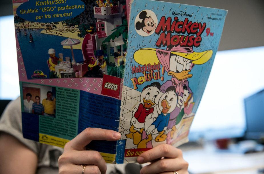 """""""Mickey Mouse"""" bei """"Donaldas ir kiti"""" komiksai"""