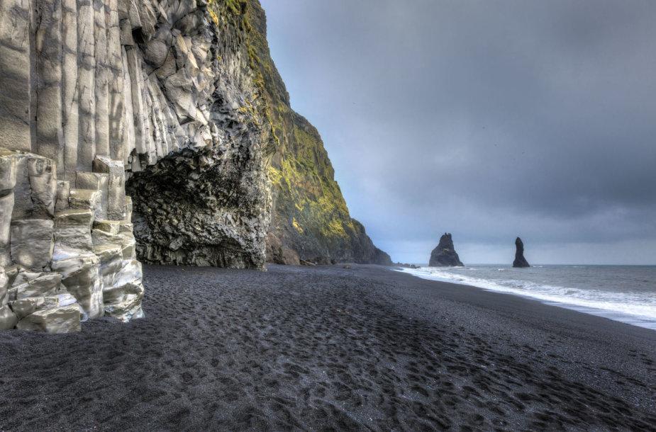 Reynisfjara paplūdimys