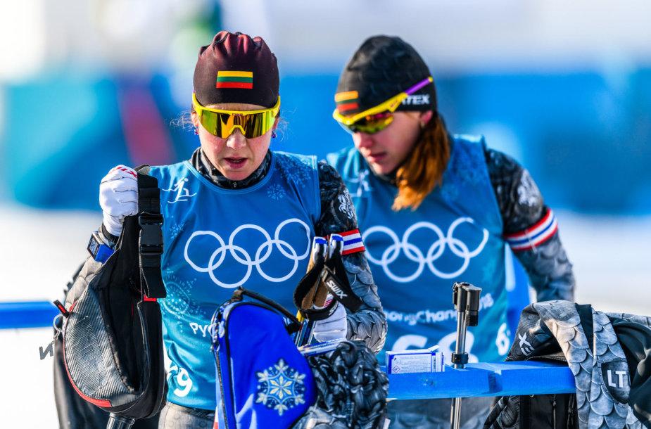 Lietuvos biatlono rinktinės treniruotė