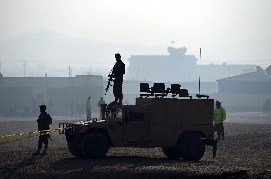 Afganistano kariai Kabule