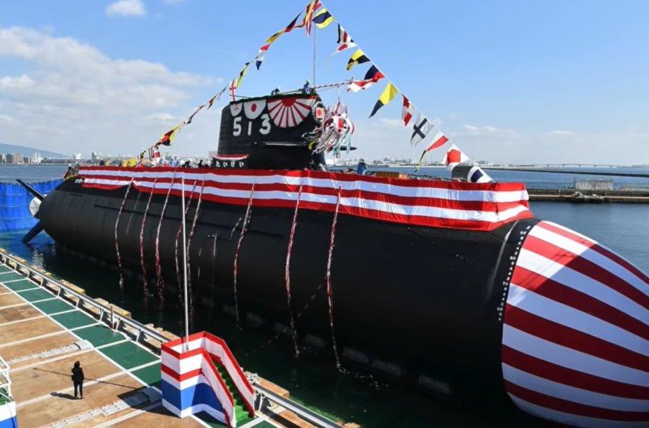 """Pirmasis """"Taigei"""" klasės Japonijos povandeninis laivas"""