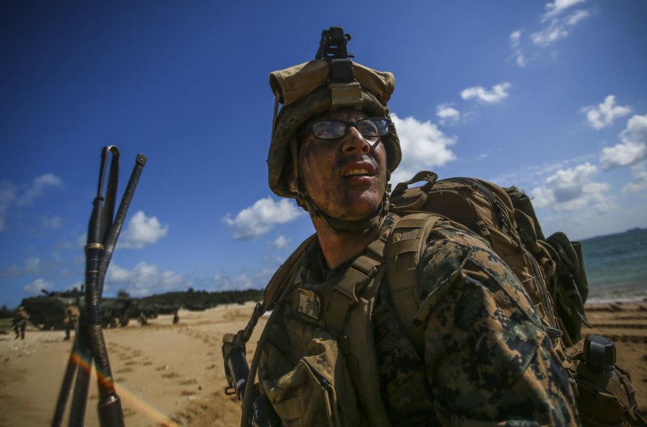JAV karys Okinavoje