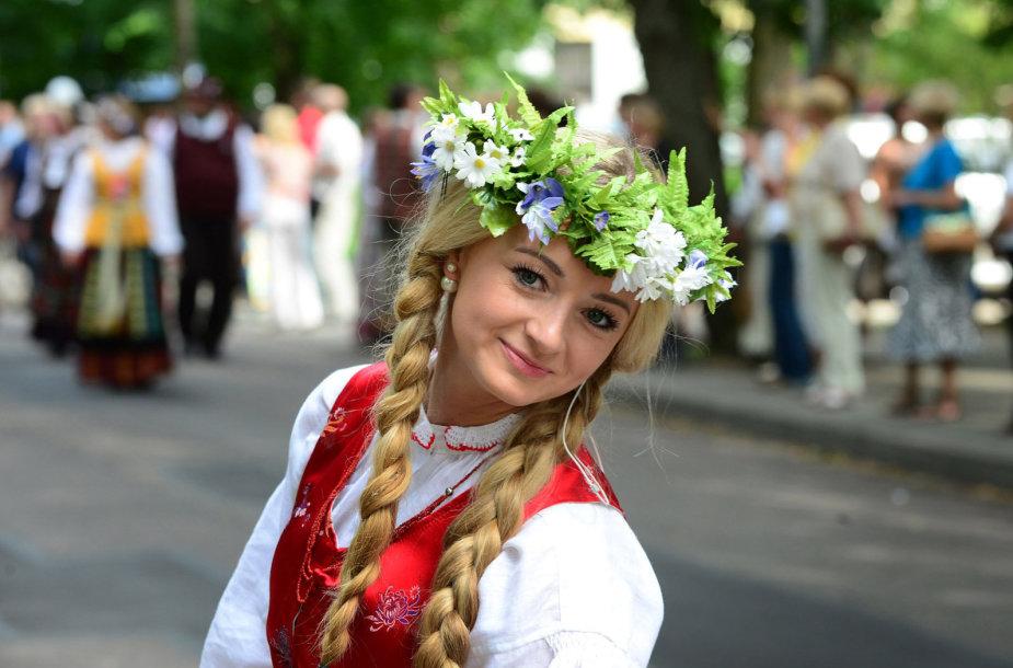 Žurnalistė Ugnė Galadauskaitė (2014 m. liepos 6 d.)
