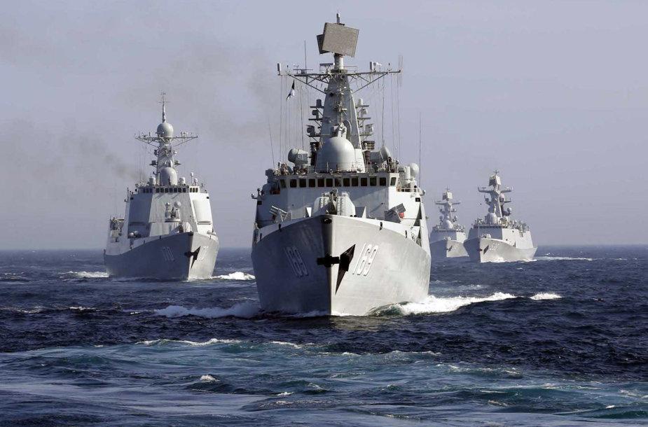 Kinijos karo laivai