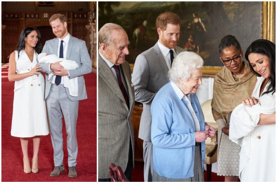 Princas Harry ir Meghan Markle neįvardys savo sūnaus krikštatėvių