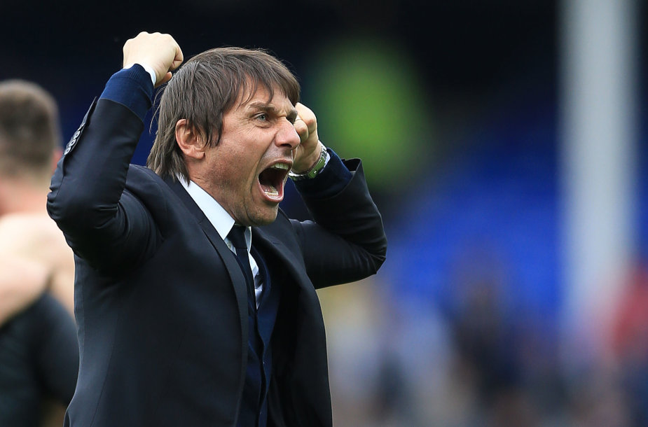 "Londono ""Chelsea"" treneris Antonio Conte"