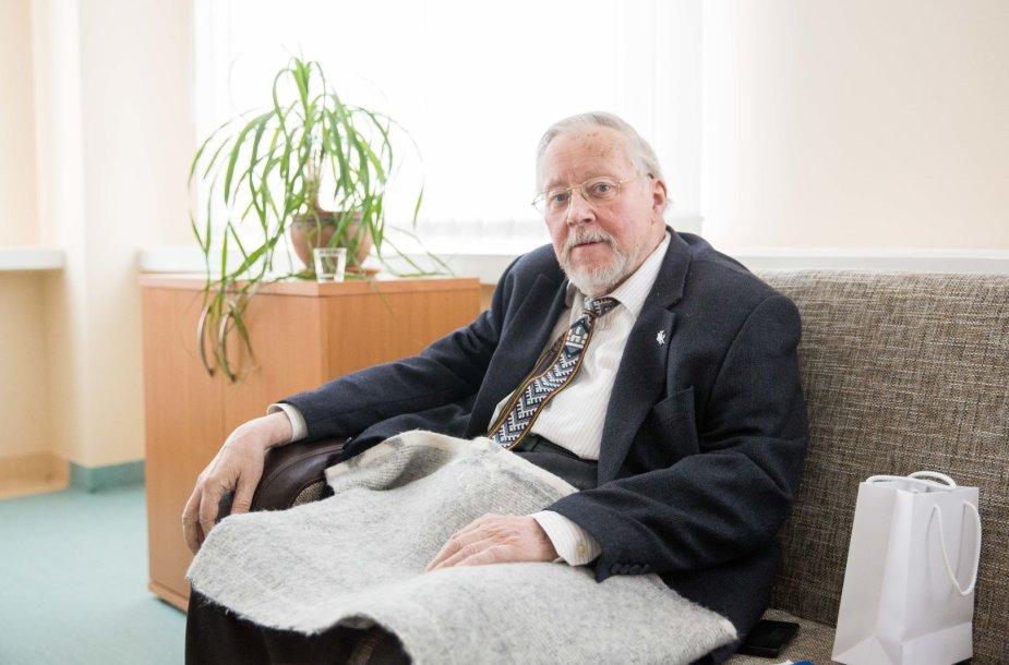 Vytauto Landsbergio susitikimas su buvusiu Islandijos užsienio reikalų ministru Jonu Baldvinu Hanibalssonu Kovo 11-osios proga