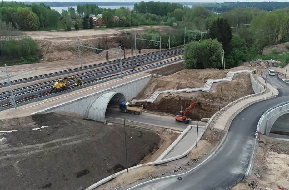 """""""Rail Baltica"""" kuria saugaus eismo infrastruktūrą"""