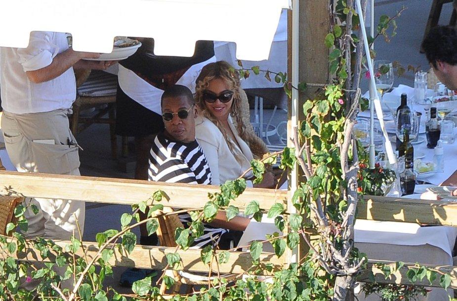 Beyonce ir Jay Z Italijoje