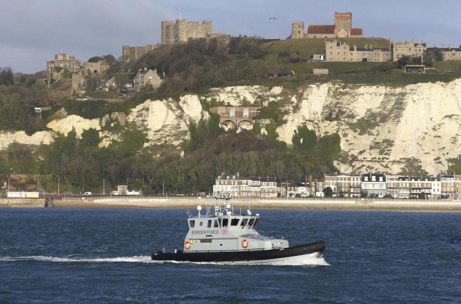 Britanijos sienos apsaugos patrulių laivas