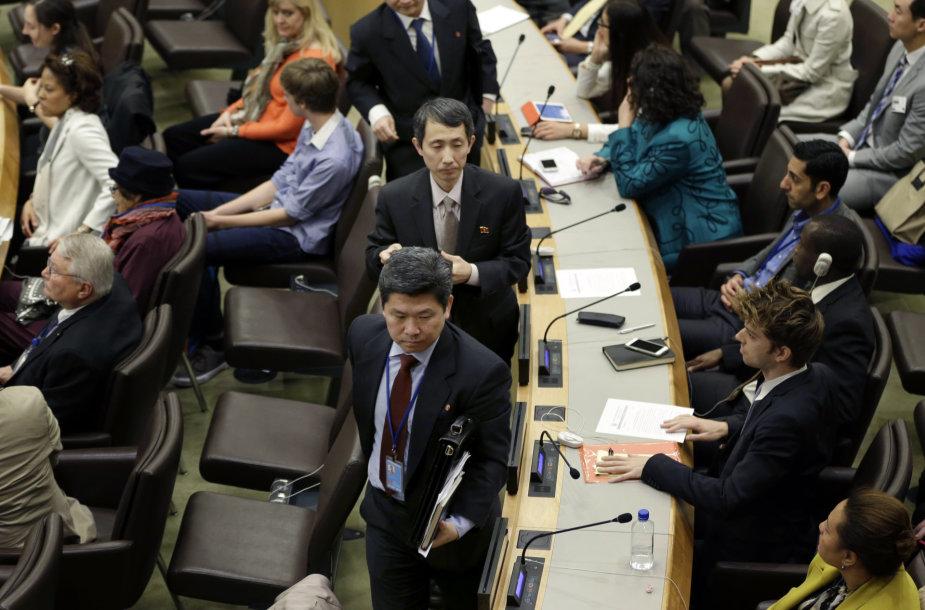 JT renginys žmogaus teisių klausimu