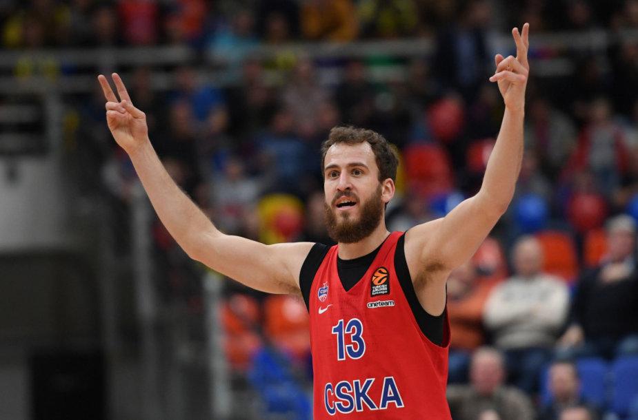 """Eurolygos milžinų dvikovoje Maskvoje """"Fenerbahče"""" krepšininkai po pratęsimo palaužė CSKA."""