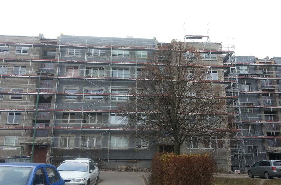 Klaipėdos Panevėžio gatvės 5 namo renovacija