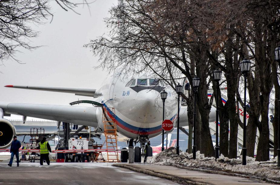 Lėktuvas, pargabenęs Rusijos diplomatus