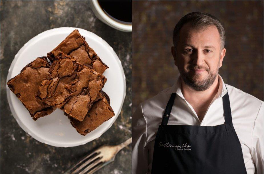 Liutauras Čeprackas ir šokoladinis pyragas